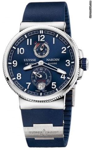 Ulysse Nardin Marine Chronometer Manufacture 1183-126-3/63 2021 neu