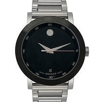 Movado Museum Stainless Steel Quartz Men's Watch 0606604