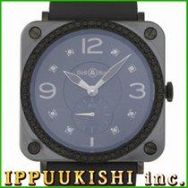 ベル & ロスBR-X1 ・中古・時計 (説明書付き)・38 x 41 mm・スチール