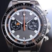 Tudor Heritage Chrono Grey #70330N - FULL SET