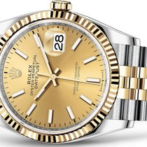 Rolex Datejust 36 Yellow Rolesor/Steel (unworn)