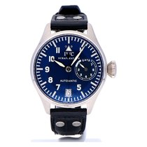 IWC Big Pilot Platina 46mm Blauw Arabisch Nederland, The Netherlands