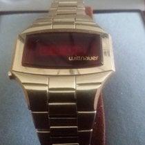 Wittnauer Polara Red Led Gold Vintage '75