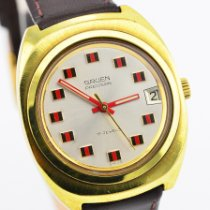 Gruen 35mm Manual winding 1970 pre-owned Precision Silver