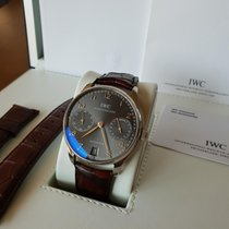 IWC IW500106 White gold 2005 Portuguese Automatic 42.3mm pre-owned