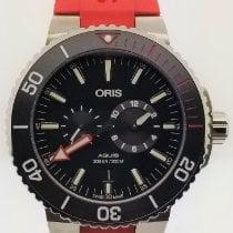 "Oris Titanium Automatic Black No numerals 43.5mm new Regulateur ""Der Meistertaucher"""