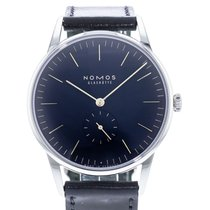 NOMOS Orion Steel 38mm Blue United States of America, Georgia, Atlanta