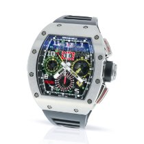 Richard Mille RM 011 Titanio 50mm Transparente Árabes
