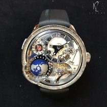 Greubel Forsey White gold 45.5mm Manual winding GMT Earth new
