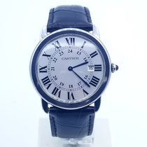 Cartier Ronde Solo de Cartier Steel Silver Roman numerals United States of America, New Jersey, Long Branch