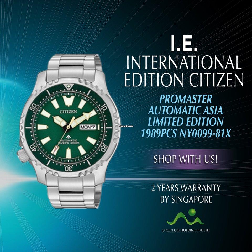 Citizen International Edition Promaster Auto Ny0099 81x