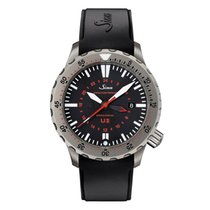 Sinn U2 44mm Black No numerals