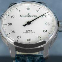 Meistersinger Acier 43mm Remontage automatique AM903 occasion