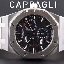 Audemars Piguet 26120ST.OO.1220ST.03 Zeljezo 2014 Royal Oak Dual Time 39mm rabljen