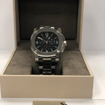 Burberry pre-owned 48mm Black 100 ATM
