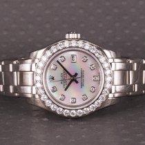 Rolex Lady-Datejust Pearlmaster nuevo 2004 Automático Reloj con estuche y documentos originales 80299