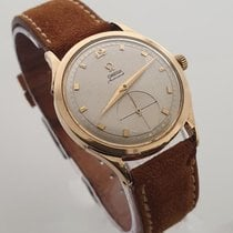 Omega Seamaster 2581 Very good Yellow gold 34mm Manual winding