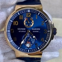 Ulysse Nardin Marine Chronometer Manufacture Rose gold 43mm Blue Arabic numerals United States of America, Texas, Dallas