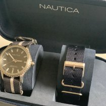 Nautica pre-owned Quartz 43mm Grey