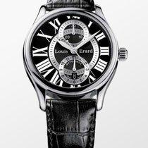 Louis Erard Les Asymétriques Steel 40mm Black Roman numerals