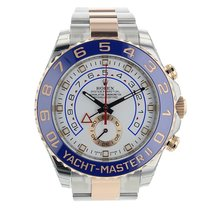 Rolex Yacht-Master II Gold/Steel 44mm White No numerals United States of America, New York, Greenvale