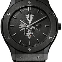 Hublot Ceramic Manual winding Black new Classic Fusion Ultra-Thin