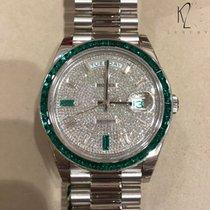 Rolex Day-Date 40 Platinum 40mm White Arabic numerals