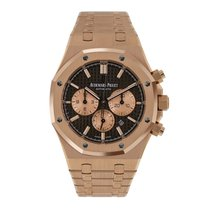 Audemars Piguet AP Royal Oak Chronograph 41 Rose Gold Brown Dial