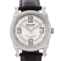Roger Dubuis White gold Automatic Silver Arabic numerals 39mm pre-owned Sympathie