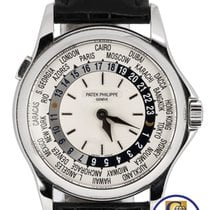 Patek Philippe Complications World Time 37mm 18K White Gold...