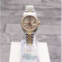 Rolex Datejust Oyster Perpetual With Silver Diamond Dial