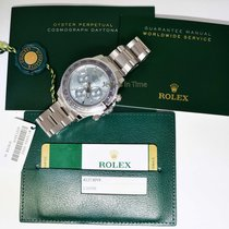 Rolex Daytona Platinum & Diamond Chronograph Watch 2016...