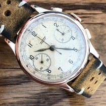 Tissot Chronograph 37mm Manual winding 1940 pre-owned White