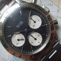 Rolex 1967 exceptional & rare Transitional black dial Daytona...