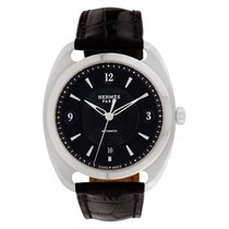 Hermès Dressage Steel 41mm Black Arabic numerals United States of America, Florida, Surfside