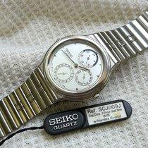 Seiko Stahl 35mm Quarz SCJ009J neu