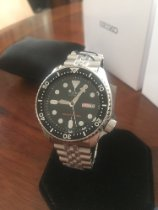 Seiko Divers SKX007 with jubilee bracelet -NEW