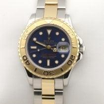 Rolex 69623 Service 03.2020 Goud/Staal 1997 Yacht-Master 29mm tweedehands