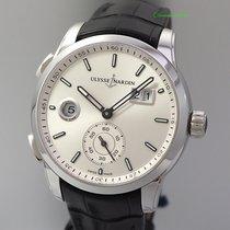 Ulysse Nardin Dual Time neu Automatik Uhr mit Original-Box und Original-Papieren 3343-126