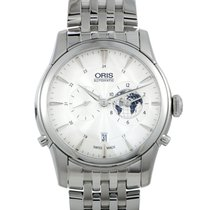 Oris Artelier Worldtimer Steel 42mm Silver United States of America, Pennsylvania, Southampton