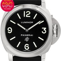 Panerai Luminor Base Logo Acero 44mm Negro Árabes España, Madrid