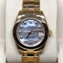 Rolex Pearlmaster 81208 New Yellow gold 34mm Automatic