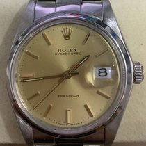 Rolex Oyster Precision Steel 34mm Gold No numerals Singapore, Singapore