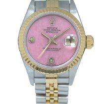 Rolex Lady-Datejust Gold/Steel 26mm Pink Arabic numerals United Kingdom, London
