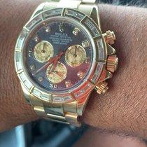Rolex Daytona Жёлтое золото 40mm Перламутровый