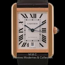 Cartier Tank Solo Or rose 31mm Argent Romain France, Paris