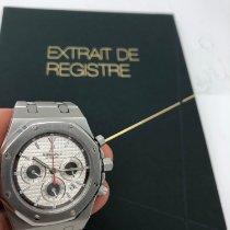 Audemars Piguet Royal Oak Chronograph occasion 39mm Argent Chronographe Date Acier