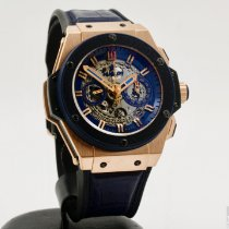 Hublot King Power Rose gold 48mm Silver No numerals