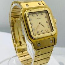 Cartier Santos Galbée Желтое золото