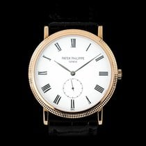 Patek Philippe Calatrava Rose gold 36mm White Roman numerals
